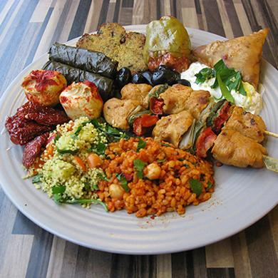persisk vegetarisk mat